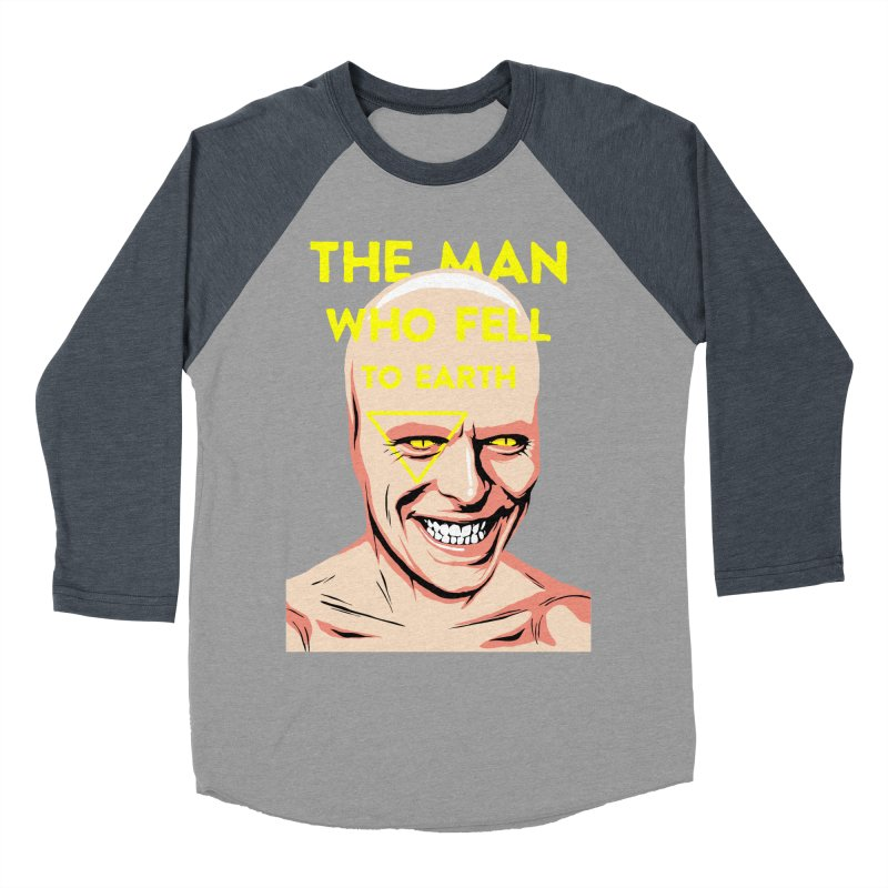 The Man Who Fell To Earth  Men's Baseball Triblend T-Shirt by butcherbilly's Artist Shop