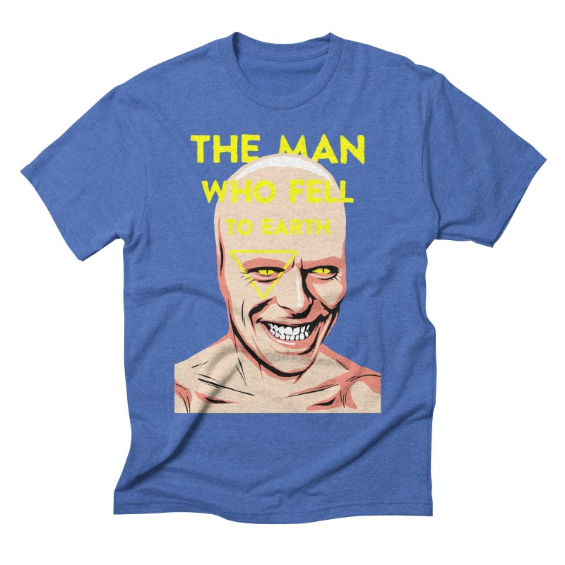 The Man Who Fell To Earth  Men's Triblend T-shirt by butcherbilly's Artist Shop