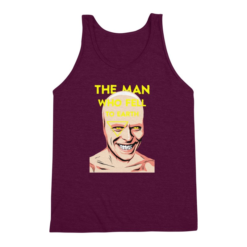 The Man Who Fell To Earth  Men's Triblend Tank by butcherbilly's Artist Shop