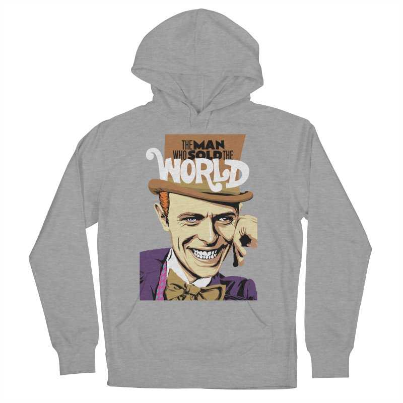 The Man Who Sold The World  Women's Pullover Hoody by butcherbilly's Artist Shop