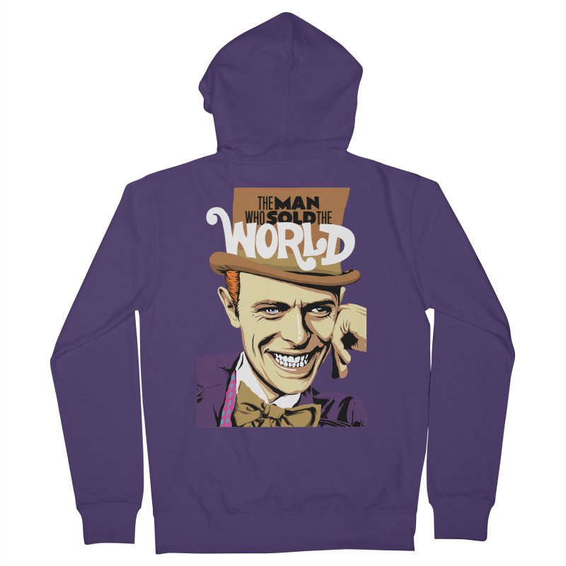 The Man Who Sold The World  Women's Zip-Up Hoody by butcherbilly's Artist Shop