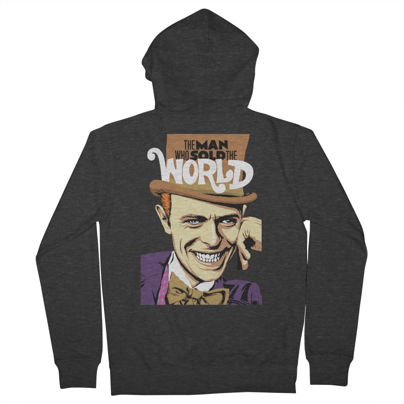 The Man Who Sold The World  Men's Zip-Up Hoody by butcherbilly's Artist Shop