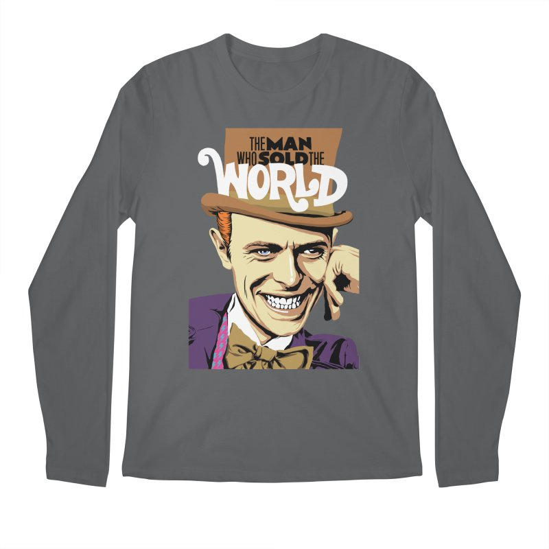 The Man Who Sold The World  Men's Longsleeve T-Shirt by butcherbilly's Artist Shop