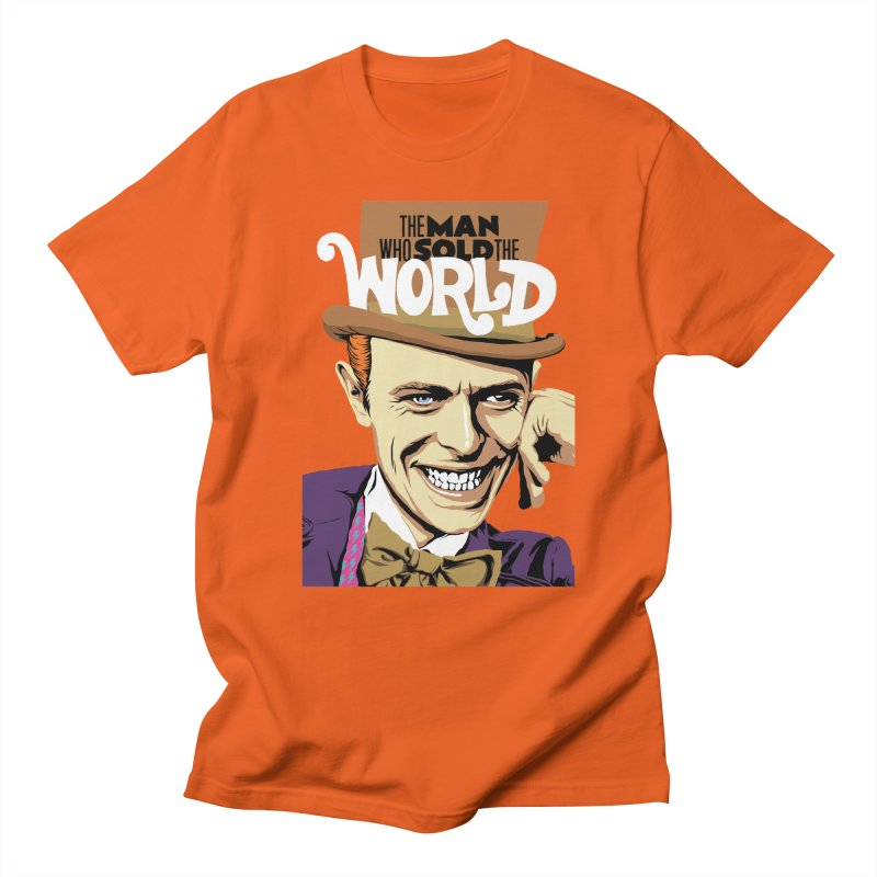 The Man Who Sold The World  Women's Unisex T-Shirt by butcherbilly's Artist Shop
