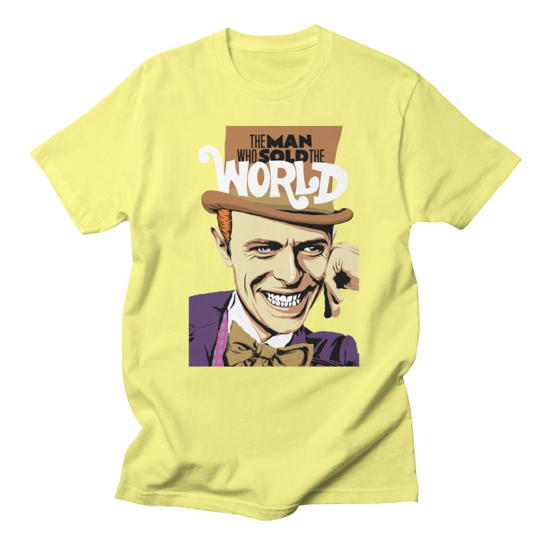 The Man Who Sold The World  Men's T-Shirt by butcherbilly's Artist Shop