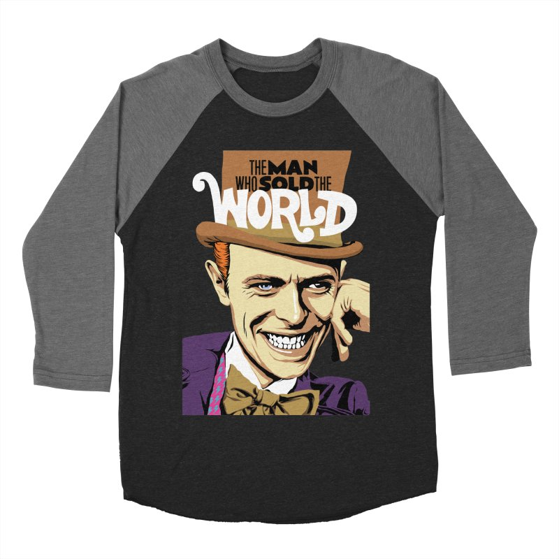The Man Who Sold The World  Women's Baseball Triblend T-Shirt by butcherbilly's Artist Shop