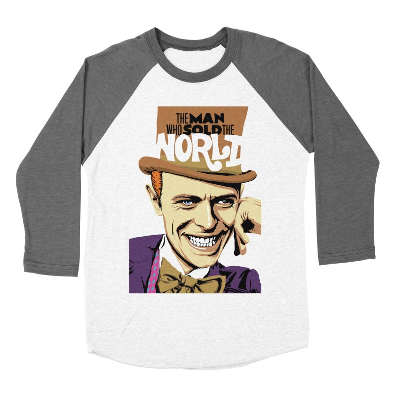 The Man Who Sold The World  Men's Baseball Triblend T-Shirt by butcherbilly's Artist Shop