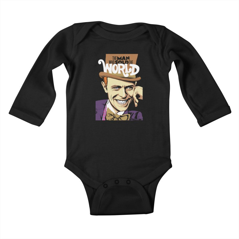 The Man Who Sold The World  Kids Baby Longsleeve Bodysuit by butcherbilly's Artist Shop