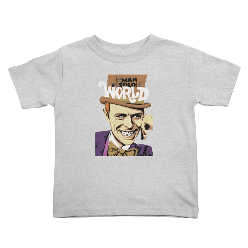 The Man Who Sold The World  Kids Toddler T-Shirt by butcherbilly's Artist Shop