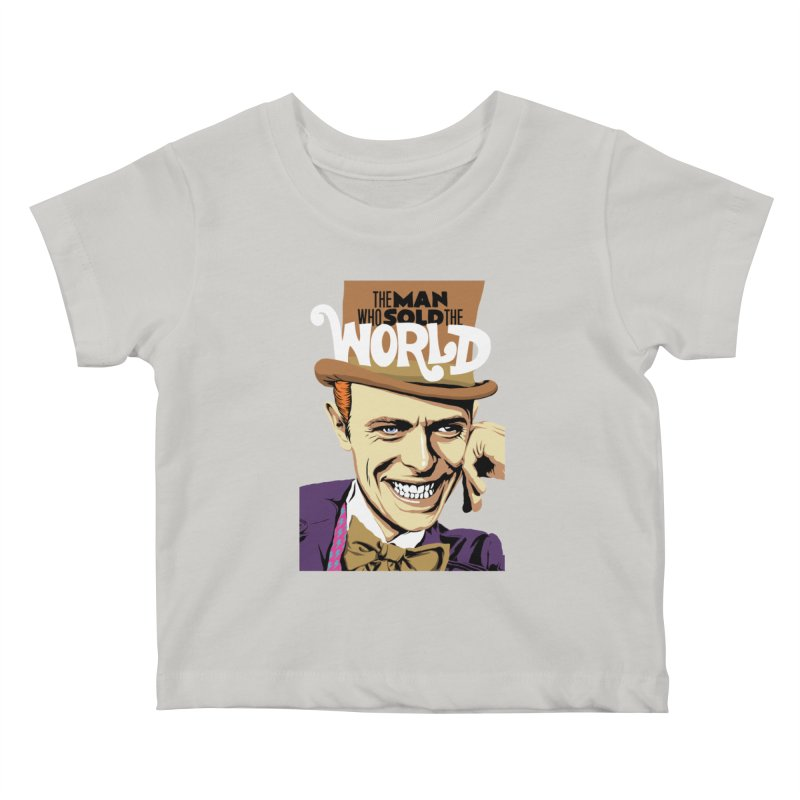 The Man Who Sold The World  Kids Baby T-Shirt by butcherbilly's Artist Shop