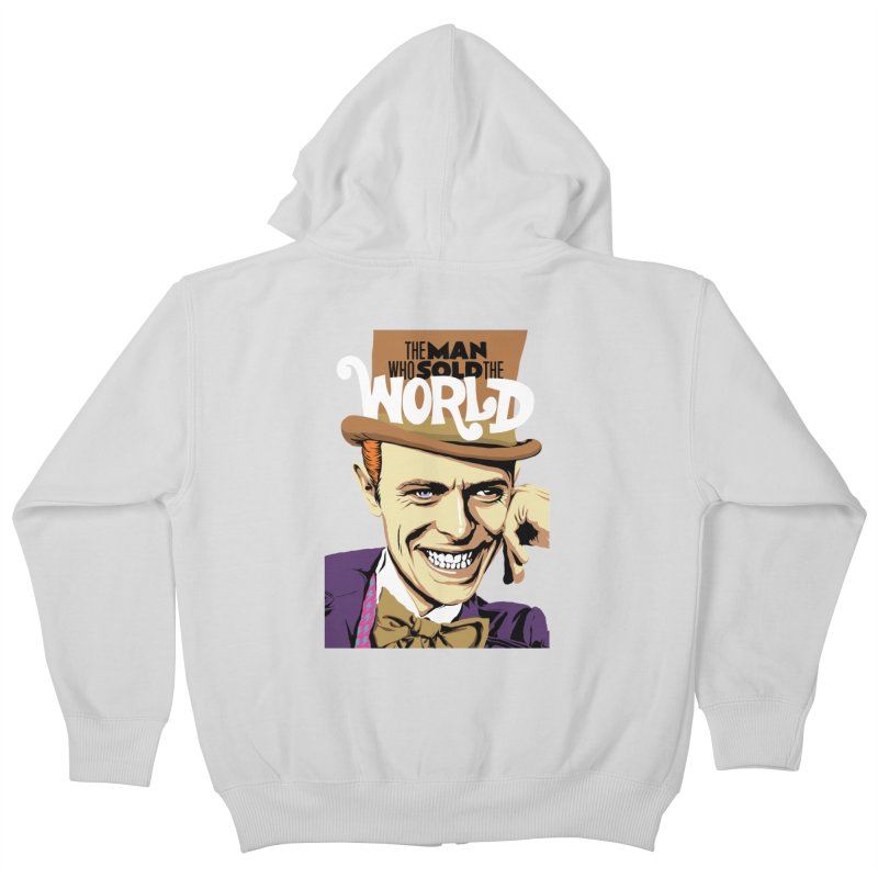 The Man Who Sold The World  Kids Zip-Up Hoody by butcherbilly's Artist Shop