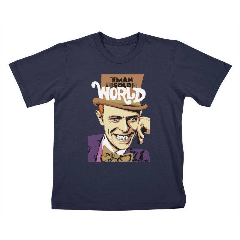 The Man Who Sold The World  Kids T-shirt by butcherbilly's Artist Shop