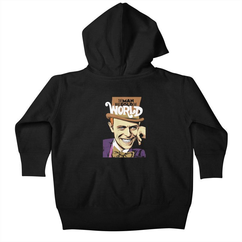 The Man Who Sold The World  Kids Baby Zip-Up Hoody by butcherbilly's Artist Shop