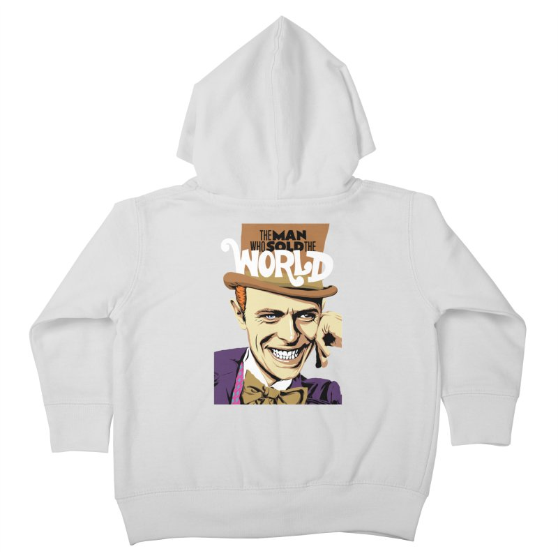 The Man Who Sold The World  Kids Toddler Zip-Up Hoody by butcherbilly's Artist Shop