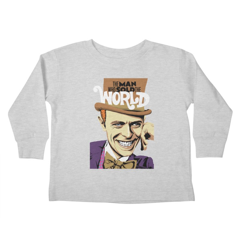 The Man Who Sold The World  Kids Toddler Longsleeve T-Shirt by butcherbilly's Artist Shop