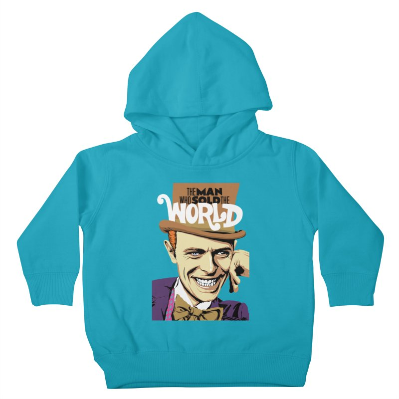 The Man Who Sold The World  Kids Toddler Pullover Hoody by butcherbilly's Artist Shop