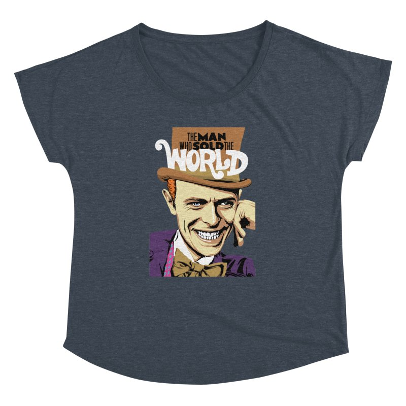 The Man Who Sold The World  Women's Dolman by butcherbilly's Artist Shop