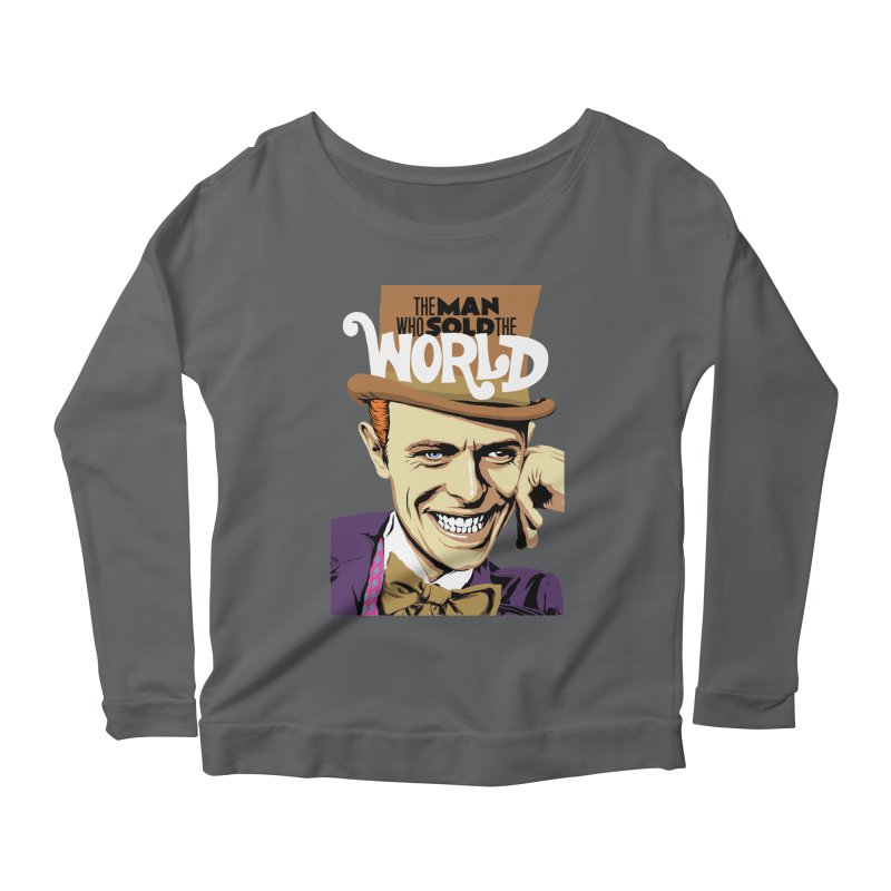 The Man Who Sold The World  Women's Longsleeve Scoopneck  by butcherbilly's Artist Shop