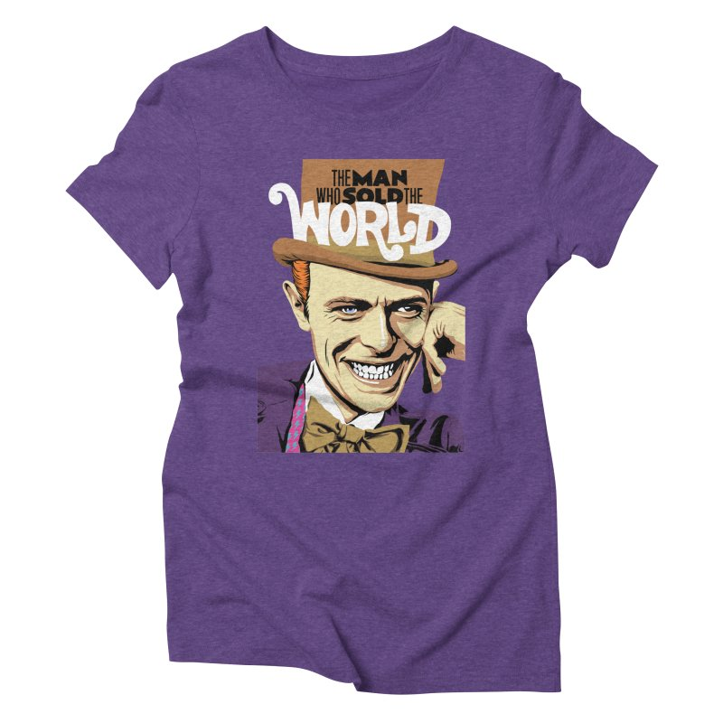 The Man Who Sold The World  Women's Triblend T-Shirt by butcherbilly's Artist Shop