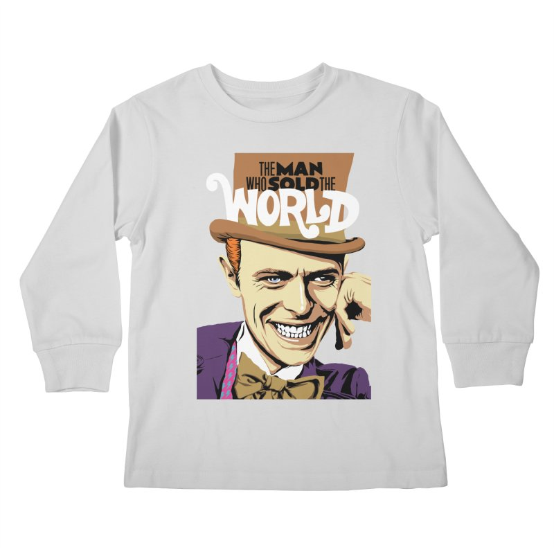 The Man Who Sold The World  Kids Longsleeve T-Shirt by butcherbilly's Artist Shop
