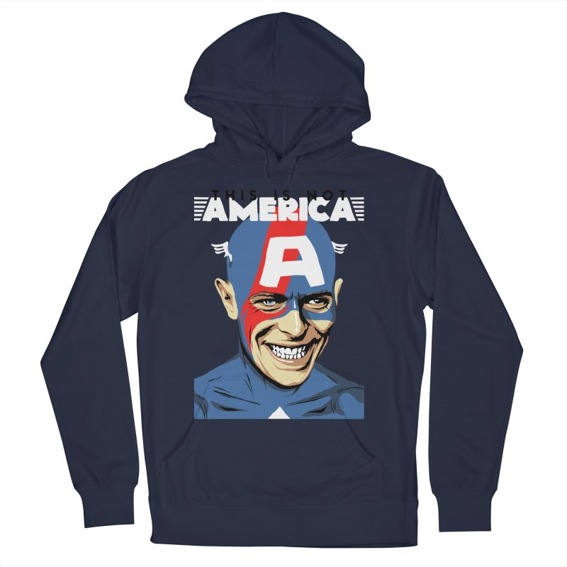 This Is Not America Men's Pullover Hoody by butcherbilly's Artist Shop