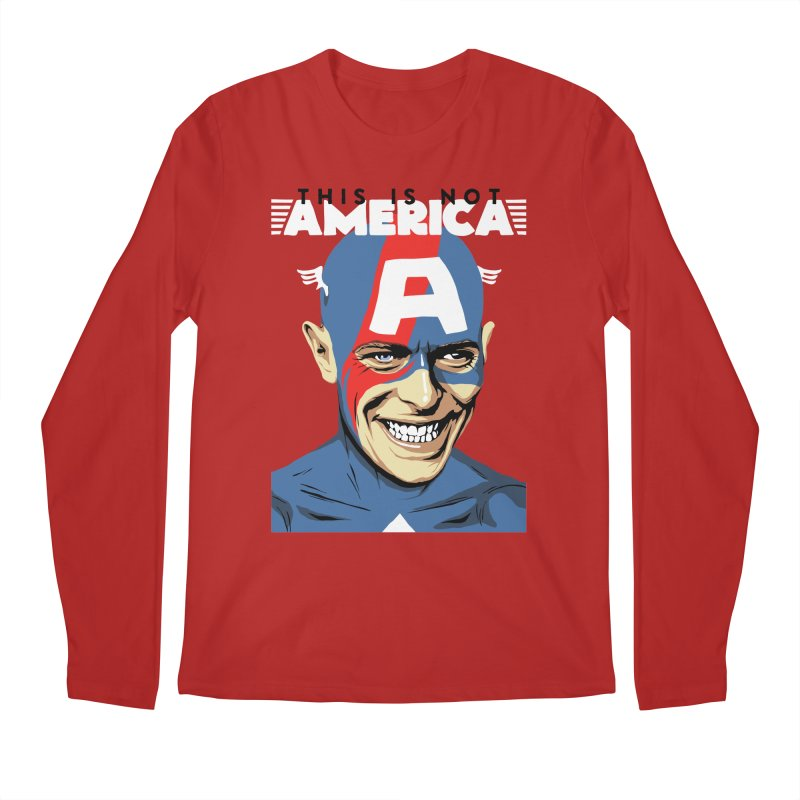 This Is Not America Men's Longsleeve T-Shirt by butcherbilly's Artist Shop