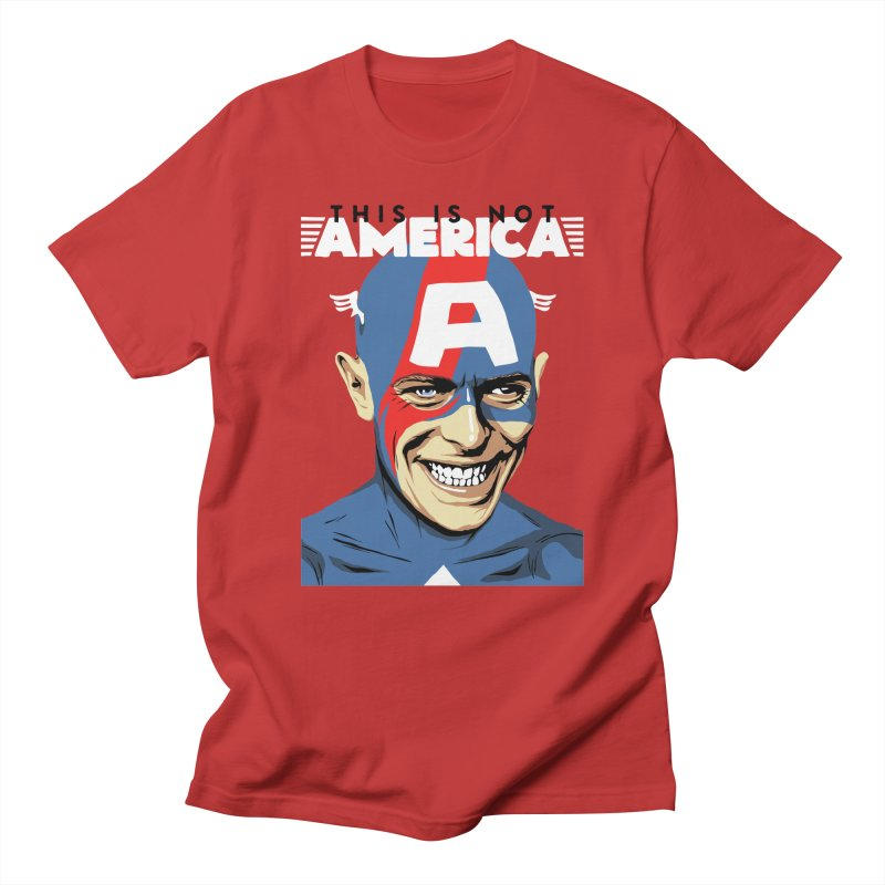 This Is Not America Men's T-shirt by butcherbilly's Artist Shop