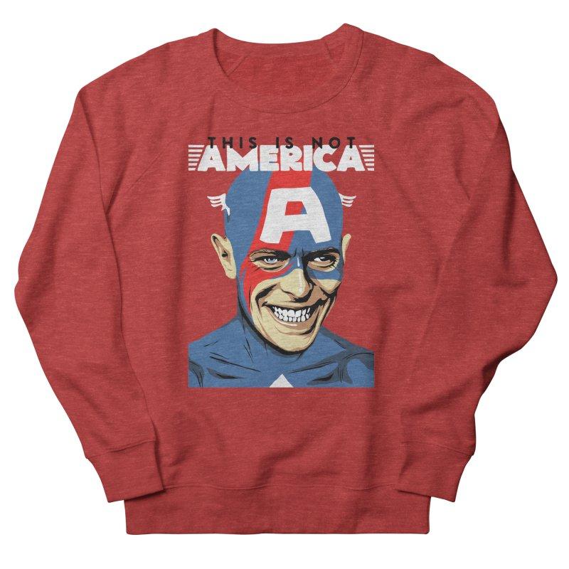 This Is Not America Men's Sweatshirt by butcherbilly's Artist Shop