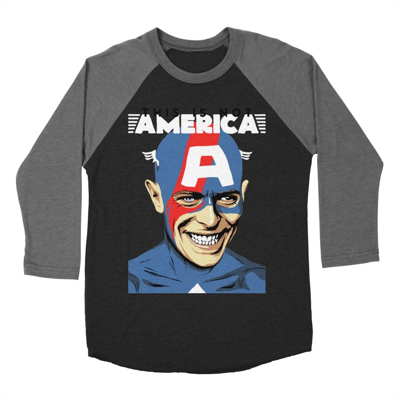 This Is Not America Men's Baseball Triblend T-Shirt by butcherbilly's Artist Shop