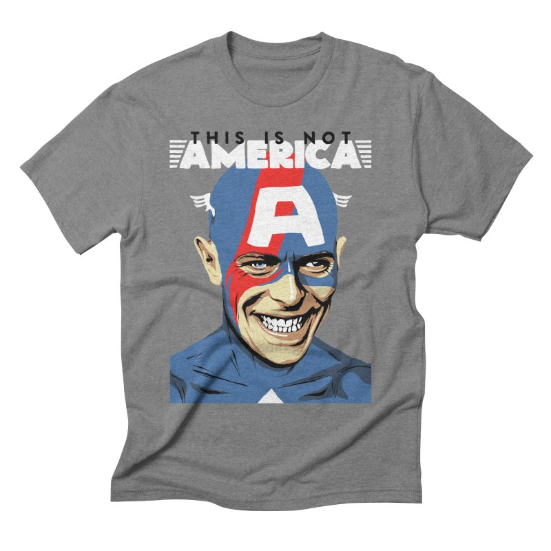 This Is Not America Men's Triblend T-shirt by butcherbilly's Artist Shop