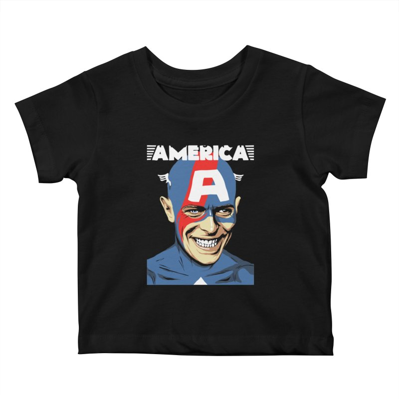 This Is Not America Kids Baby T-Shirt by butcherbilly's Artist Shop