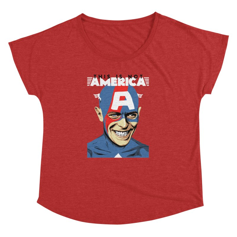 This Is Not America Women's Dolman by butcherbilly's Artist Shop