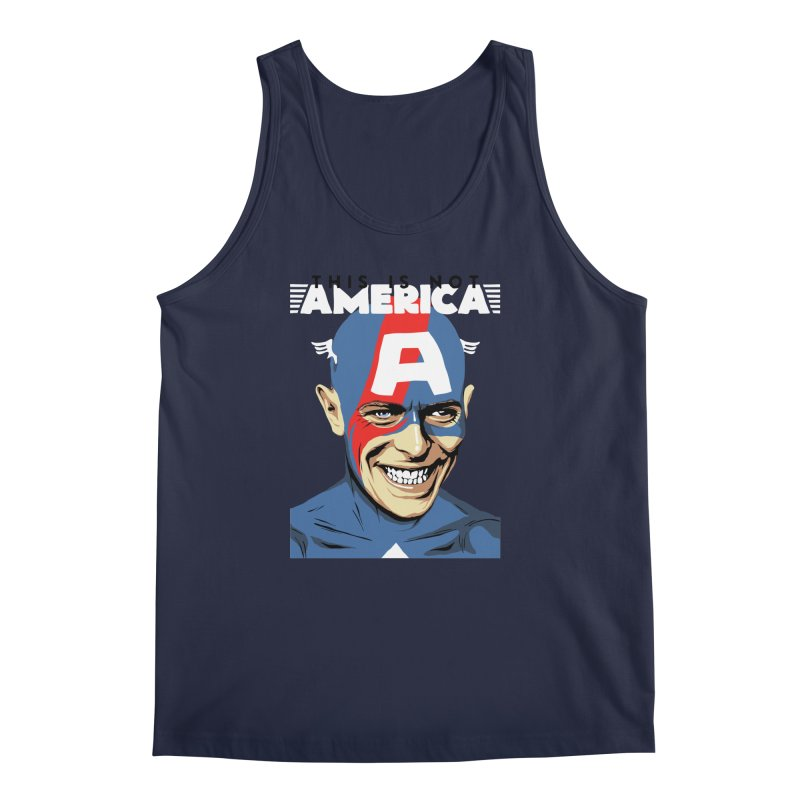 This Is Not America Men's Tank by butcherbilly's Artist Shop