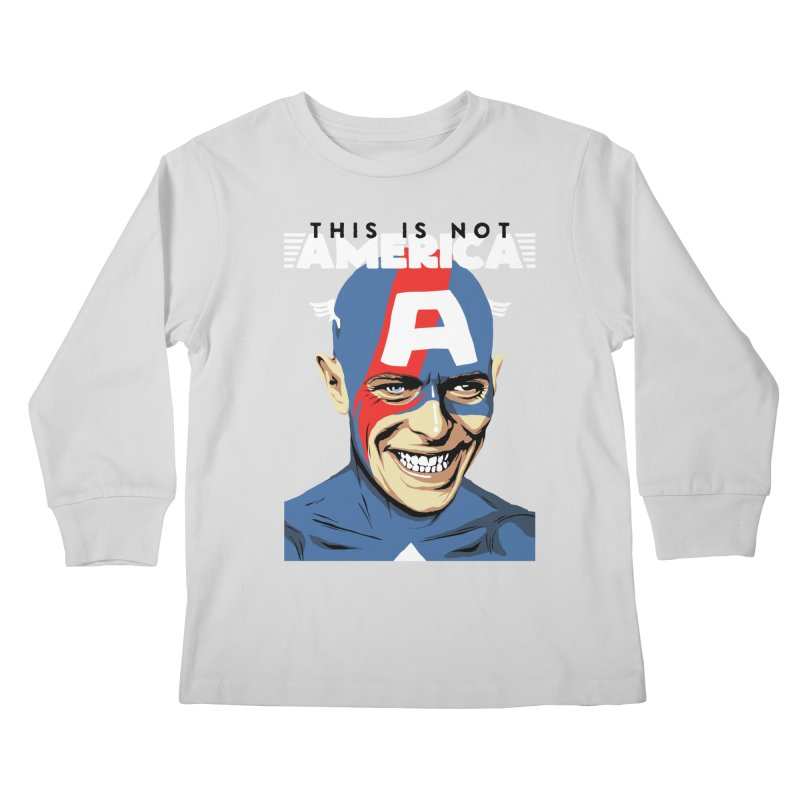 This Is Not America Kids Longsleeve T-Shirt by butcherbilly's Artist Shop
