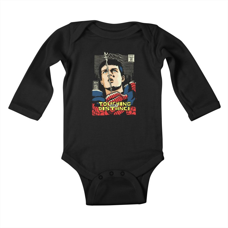 Touching Kids Baby Longsleeve Bodysuit by butcherbilly's Artist Shop