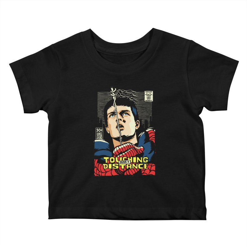 Touching Kids Baby T-Shirt by butcherbilly's Artist Shop