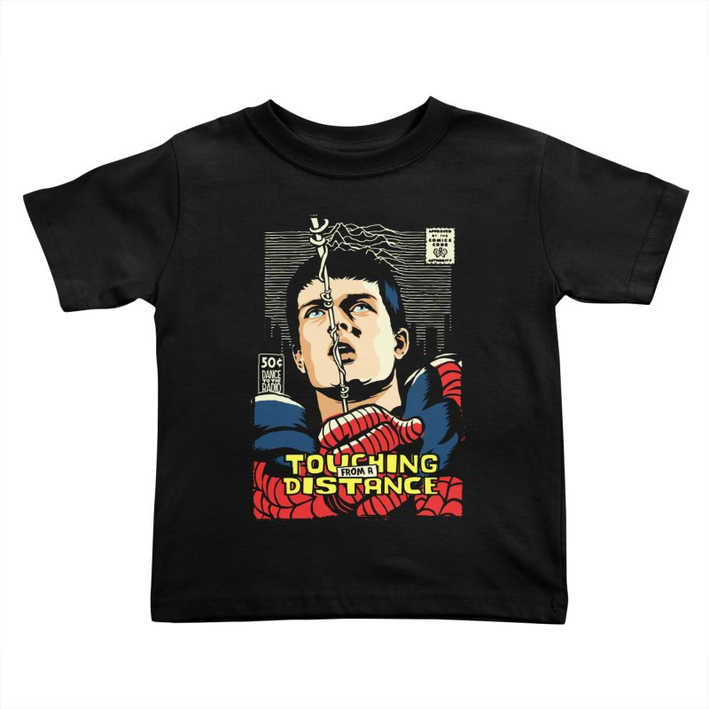 Touching Kids Toddler T-Shirt by butcherbilly's Artist Shop