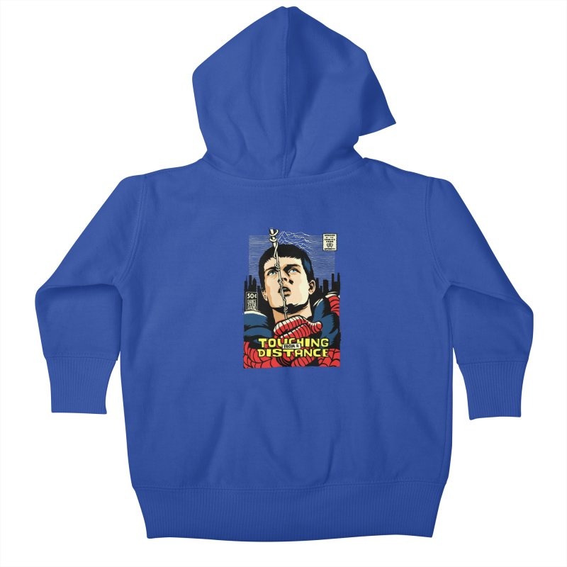 Touching Kids Baby Zip-Up Hoody by butcherbilly's Artist Shop