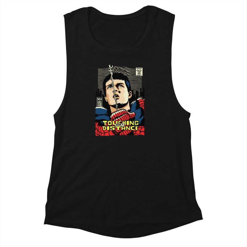 Touching Women's Muscle Tank by butcherbilly's Artist Shop