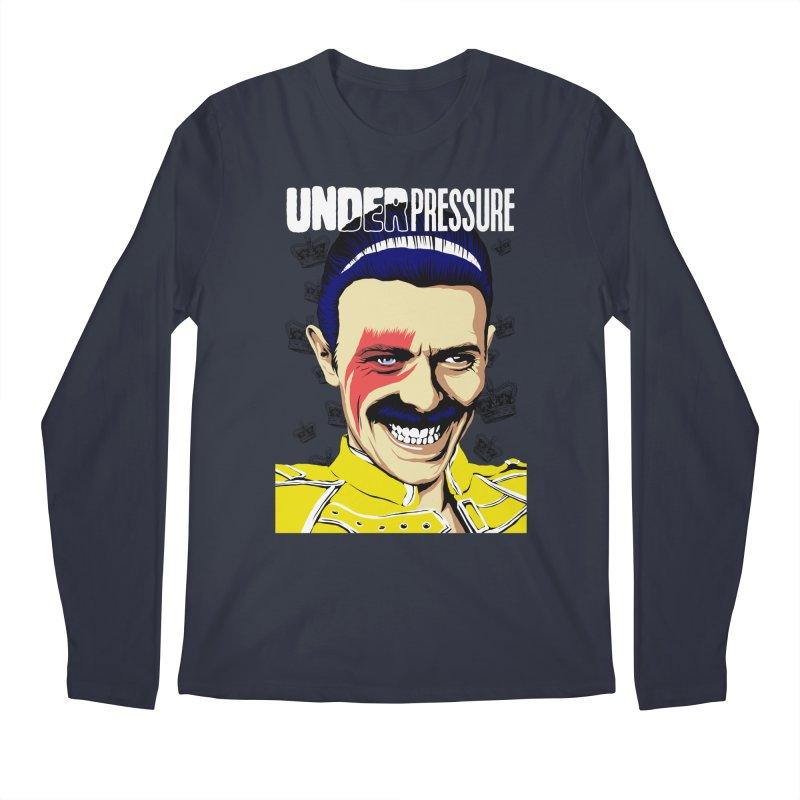 Under Pressure  Men's Longsleeve T-Shirt by butcherbilly's Artist Shop