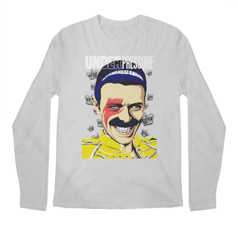 Under Pressure  Men's Longsleeve T-Shirt by butcherbilly's Artist Shop