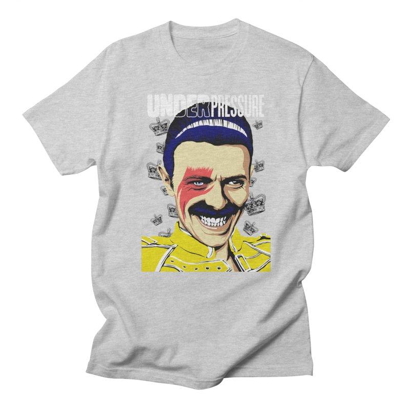 Under Pressure  Men's T-shirt by butcherbilly's Artist Shop