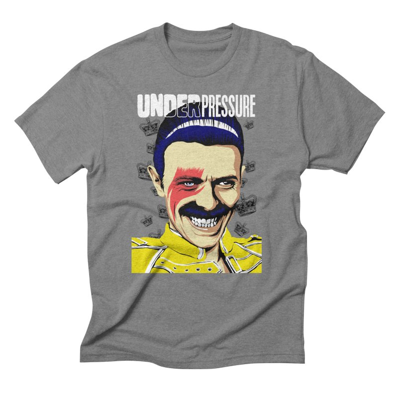 Under Pressure  Men's Triblend T-Shirt by butcherbilly's Artist Shop