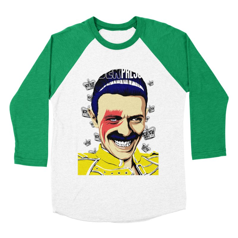 Under Pressure  Women's Baseball Triblend T-Shirt by butcherbilly's Artist Shop