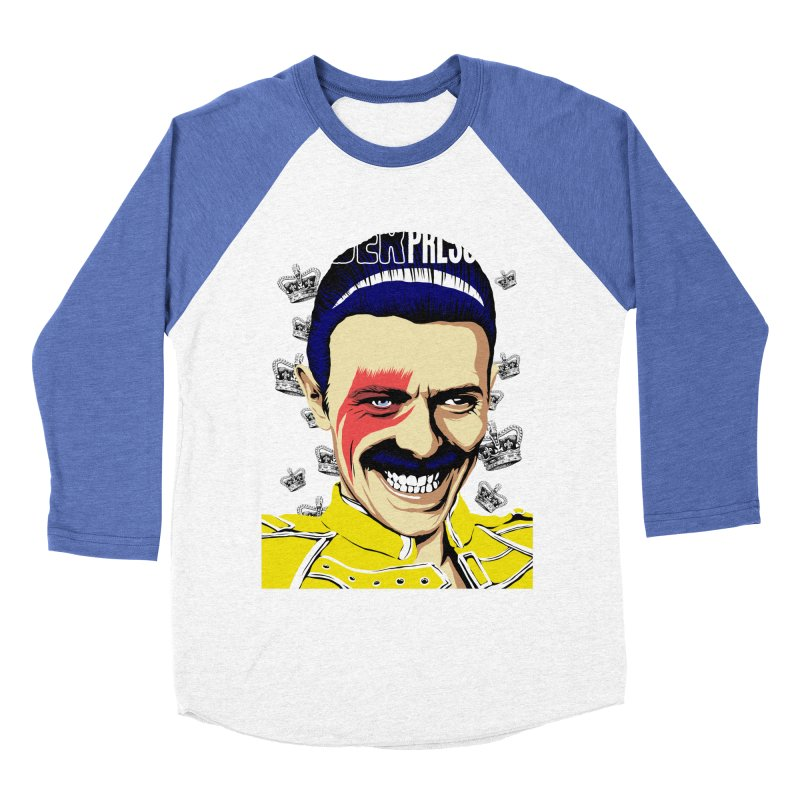 Under Pressure  Men's Baseball Triblend T-Shirt by butcherbilly's Artist Shop