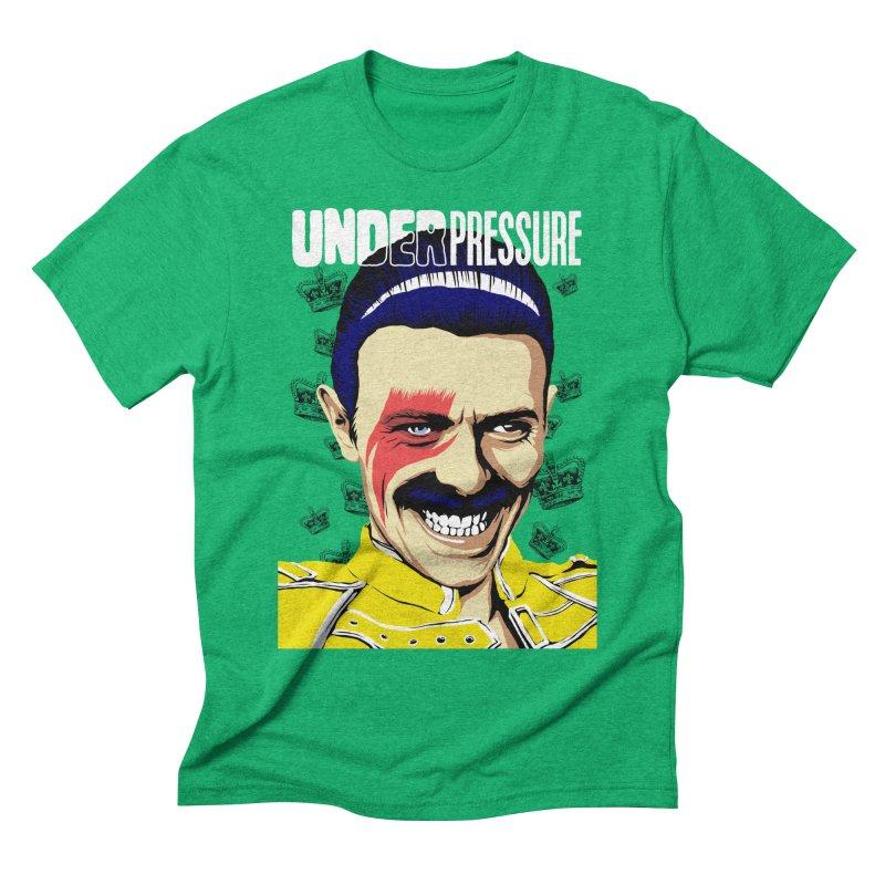 Under Pressure  Men's Triblend T-shirt by butcherbilly's Artist Shop