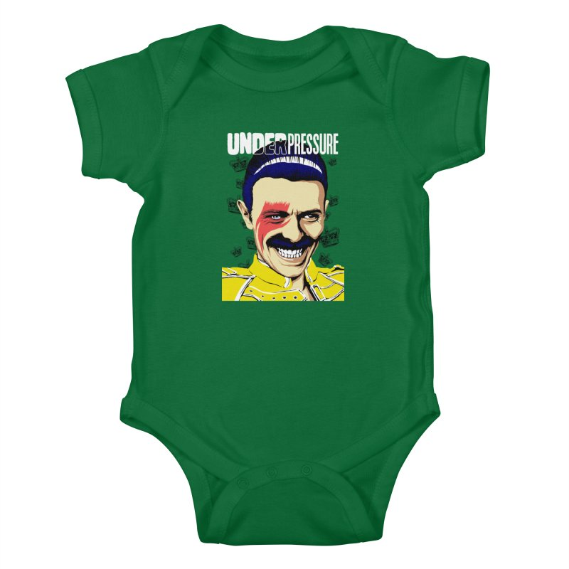 Under Pressure  Kids Baby Bodysuit by butcherbilly's Artist Shop