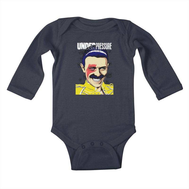 Under Pressure  Kids Baby Longsleeve Bodysuit by butcherbilly's Artist Shop