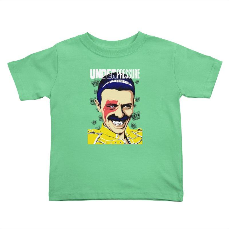Under Pressure  Kids Toddler T-Shirt by butcherbilly's Artist Shop