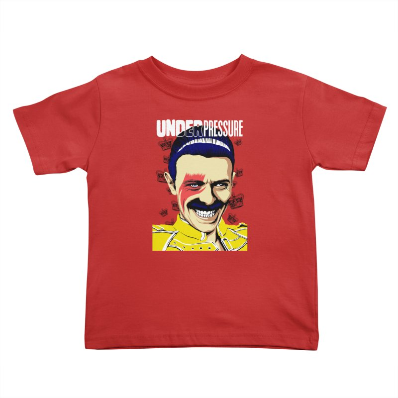 Under Pressure  Kids Toddler T-Shirt by butcherbilly's Artist Shop